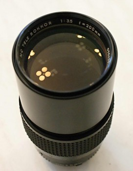 Objektiv Minolta 200mm/3,5F