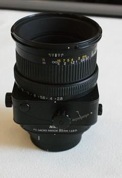 Objektiv Nikon PC Micro Nikkor 85mm 1:2,8 D