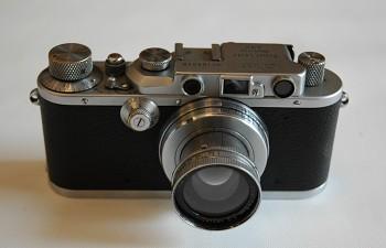 Leica 3  Obj: Summar 1:2 50mm + Brašna