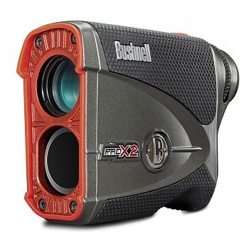 Laserový dálkoměr Bushnell Pro X2 slope switch dual display