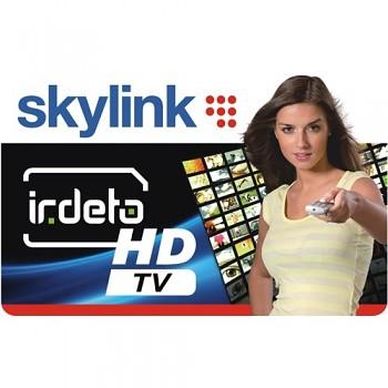 Karta Skylink Standard HD IRDETO + HD PLUS a MULTI na 2 měsíce ZDARMA