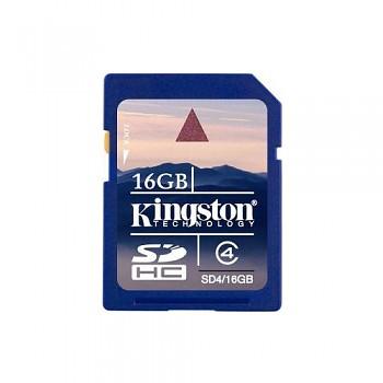 Kingston SDHC 16GB Class 4