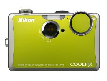 NIKON COOLPIX S1000pj zelený